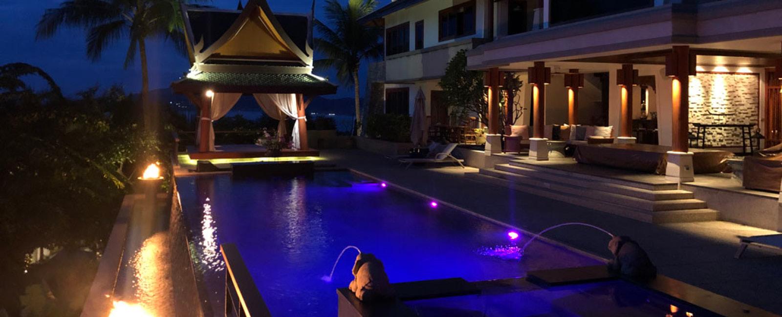 Paradise Pool Interiors Sliders