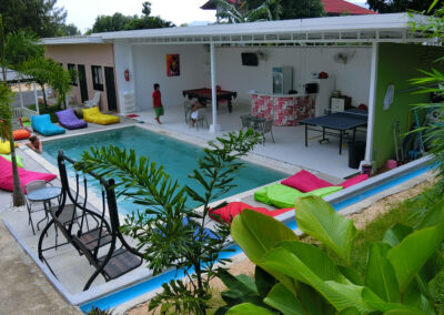 Samui Backpacker Hotel paradise pool interiors 0103