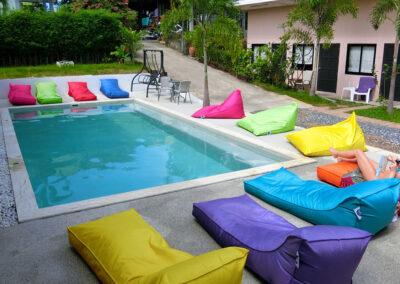 Samui Backpacker Hotel paradise pool interiors 0120