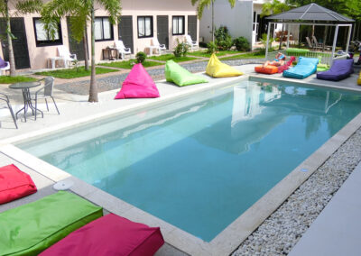 Samui Backpacker Hotel paradise pool interiors 0133