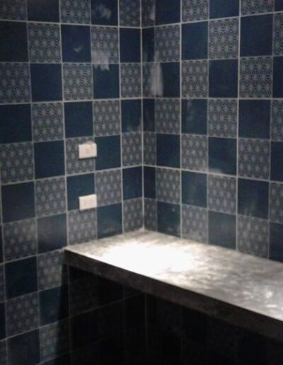 Bel Air Tile Work Bathroom